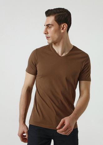 Ds Damat Slim Fit Vizon T-shirt - 8682445086058   D'S Damat