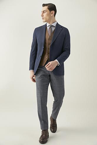 Damat Regular Fit Lacivert Kombinli Takım Elbise - 8682364830190 | Damat Tween