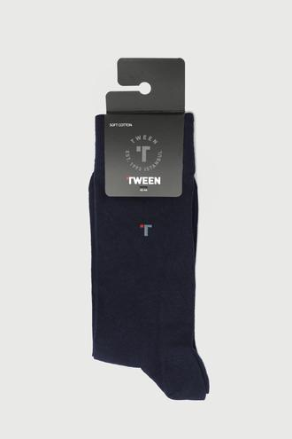 Tween Lacivert Çorap - 8682364642199 | Damat Tween