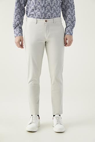 Twn Slim Fit Taş Çizgili Chino Pantolon - 8682060158055 | D'S Damat