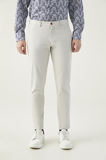 Twn Slim Fit Taş Çizgili Chino Pantolon - 8682060158055   D'S Damat