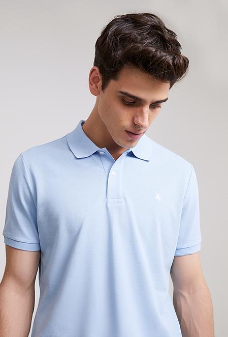 Ds Damat Regular Fit Mavi Pike Dokulu T-shirt - 8682060907370 | D'S Damat
