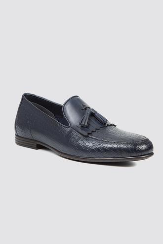Twn Lacivert Loafer Ayakkabı - 8682060843661 | D'S Damat