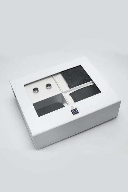 Ds Damat Standart Kravat Mendil Kol Düğmesi Çorap Aksesuar Setleri - 8682445200966 | D'S Damat