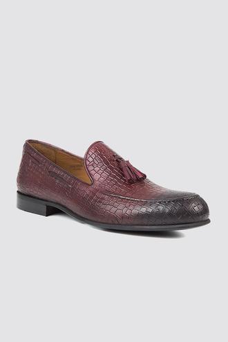 Twn Bordo Loafer Ayakkabı - 8682060224989 | D'S Damat