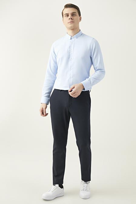 Twn Slim Fit Lacivert Jogger Kumaş Pantolon - 8682445260922   D'S Damat