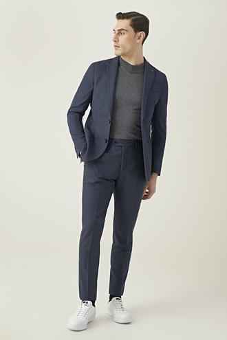 Tween Slim Fit Lacivert Takım Elbise - 8682364474523   Damat Tween