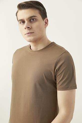 Ds Damat Slim Fit Vizon T-shirt - 8682445085952 | D'S Damat
