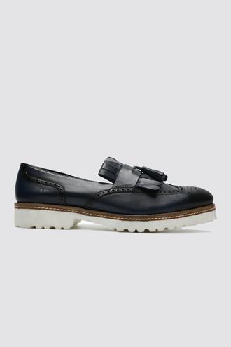 Tween Lacivert Ayakkabı - 8681649998402 | Damat Tween