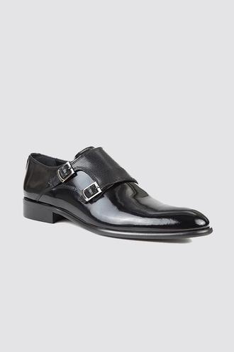 Ds Damat Siyah Smokin Ayakkabı - 8681778029848 | D'S Damat