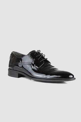 Ds Damat Siyah Smokin Ayakkabı - 8681778184592 | D'S Damat