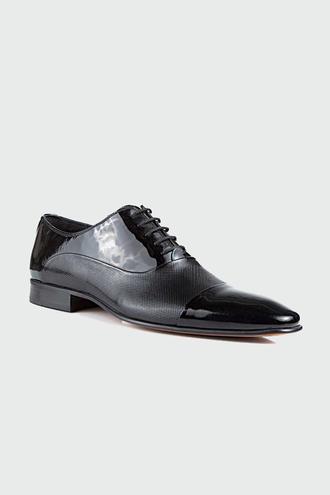 Ds Damat Siyah Smokin Ayakkabı - 8681494542959 | D'S Damat