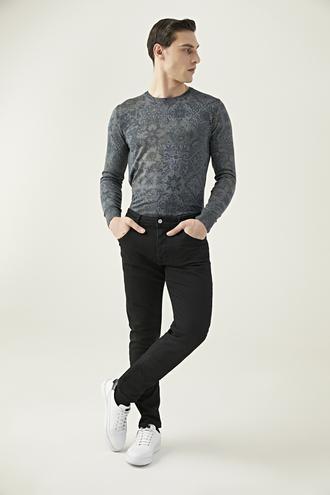 Damat Slim Fit Siyah Denim Pantolon - 8682364431250 | Damat Tween