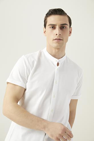 Tween Slim Fit Beyaz Gömlek - 8682364494828 | Damat Tween