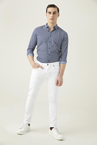 Tween Super Slim Fit Beyaz Denim Pantolon - 8682364636853 | Damat Tween