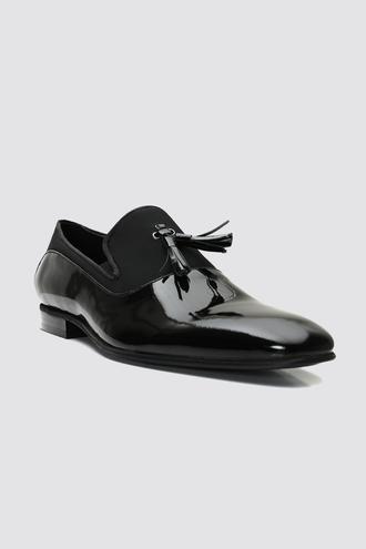 Ds Damat Siyah Smokin Ayakkabı - 8681779910244 | D'S Damat