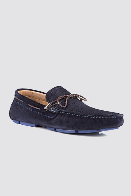 Twn Lacivert Loafer Ayakkabı - 8682060347596 | D'S Damat