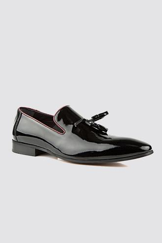 Ds Damat Siyah Smokin Ayakkabı - 8682060245076 | D'S Damat