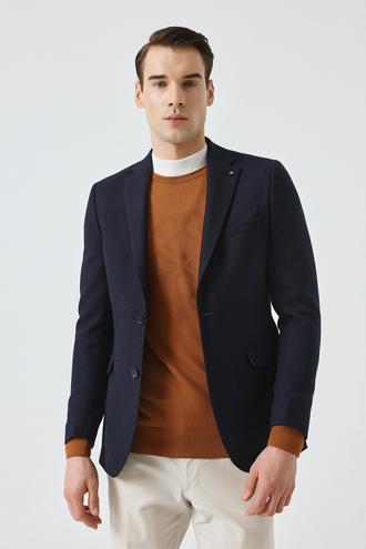 Tween Slim Fit Lacivert Ceket - 8681649824831 | D'S Damat