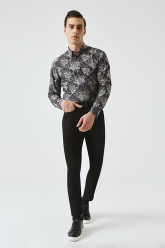 Tween Super Slim Fit Siyah Chino Pantolon - 8682364011063   Damat Tween
