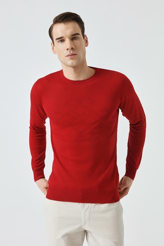 Tween Kırmızı Kazak - 8681649712817 | D'S Damat