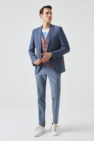 Tween Slim Fit Slim Fit Lacivert Takım Kombınlı - 8681649444299 | D'S Damat