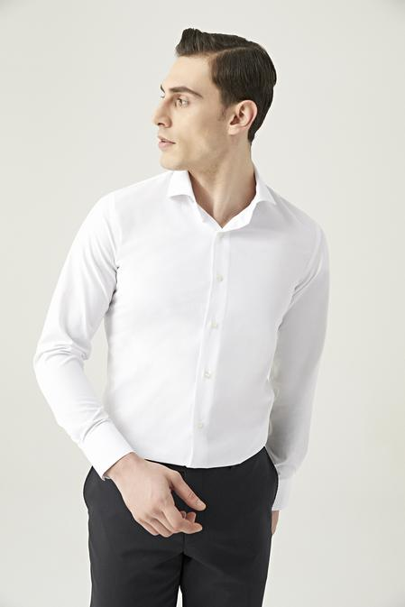 Ds Damat Slim Fit Beyaz Gömlek - 8682445070088   D'S Damat