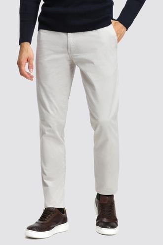 Ds Damat Slim Fit Taş Düz Chino Pantolon - 8681779521525   D'S Damat