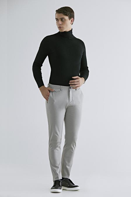 Twn Slim Fit Taş Armürlü Chino Pantolon - 8682445307160 | D'S Damat