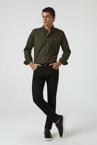 Ds Damat Siyah Düz Denim Pantolon - 8682060851475 | D'S Damat