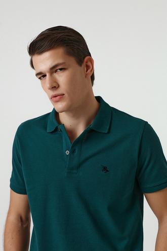 Ds Damat Regular Fit Haki Pike Dokulu T-shirt - 8682060907622 | D'S Damat
