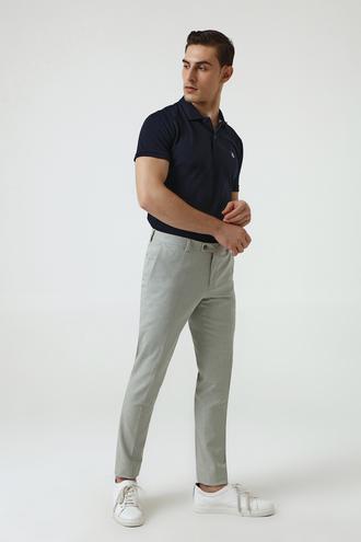 Twn Yeşil Armürlü Kumaş Pantolon - 8682060352170 | D'S Damat