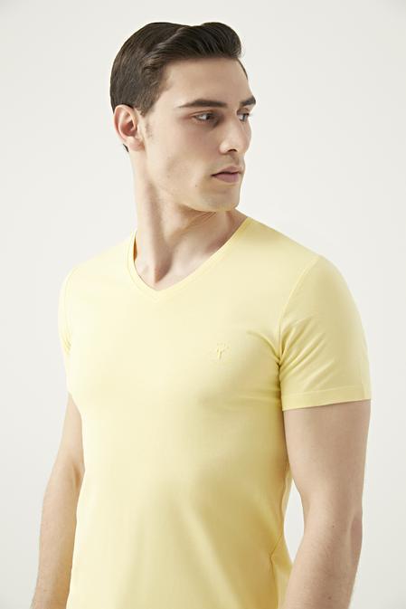 Tween Sarı T-shirt - 8681649549772 | Damat Tween