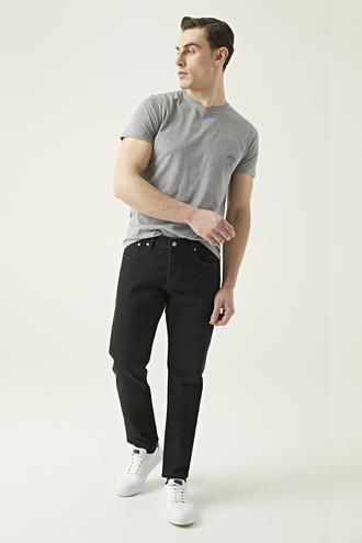 Damat Siyah Denim Pantolon - 8681649311843 | Damat Tween