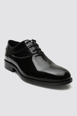 Ds Damat Siyah Smokin Ayakkabı - 8682445236897 | D'S Damat