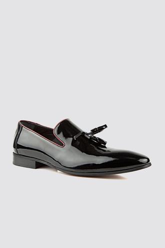 Ds Damat Siyah Smokin Ayakkabı - 8682445245233 | D'S Damat