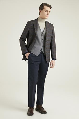 Ds Damat Slim Fit Kahve Kombinli Takım Elbise - 8682060708717 | D'S Damat