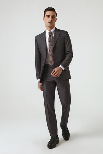 Ds Damat Slim Fit Antrasit Takım Elbise - 8682445179040 | D'S Damat