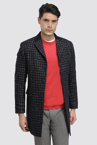 Ds Damat Regular Fit Lacivert Palto - 8681779480761 | D'S Damat