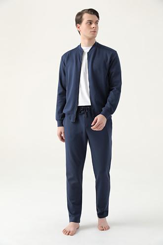 Ds Damat Regular Fit Lacivert Pijama Takımı - 8682445224597 | D'S Damat