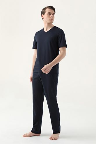 Ds Damat Regular Fit Lacivert Pijama Takımı - 8682445223347 | D'S Damat