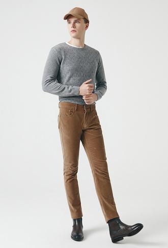 Tween Slim Fit Camel Chino Pantolon - 8682364471775 | Damat Tween