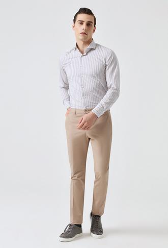 Tween Slim Fit Vizon Düz Chino Pantolon - 8681649627432   D'S Damat