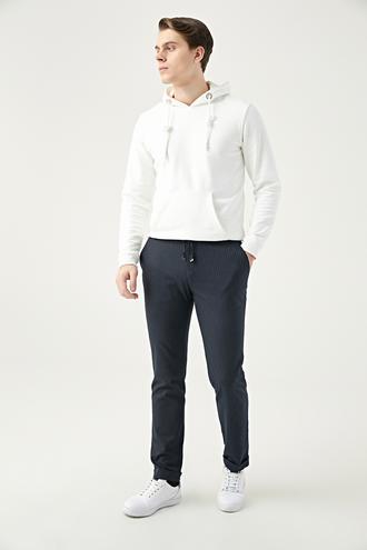 Twn Slim Fit Lacivert Gabardin Jogger Kumaş Pantolon - 8682445084900   D'S Damat