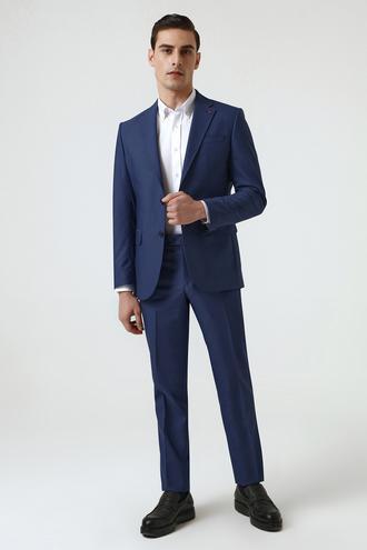 Ds Damat Slim Fit Lacivert Takım Elbise - 8682445180343 | D'S Damat