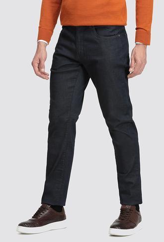 Ds Damat Lacivert Düz Denim Pantolon - 8682060851291 | D'S Damat
