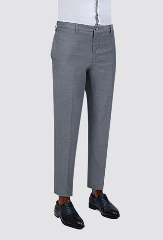 Twn Lacivert Düz Kumaş Pantolon - 8681779909002 | D'S Damat