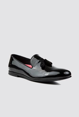 Tween Siyah Ayakkabı - 8681649202516   Damat Tween