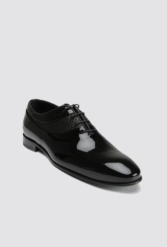 Damat Siyah Smokin Ayakkabı - 8682364902408 | Damat Tween