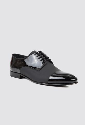 Damat Siyah Smokin Ayakkabı - 8681649341277 | Damat Tween